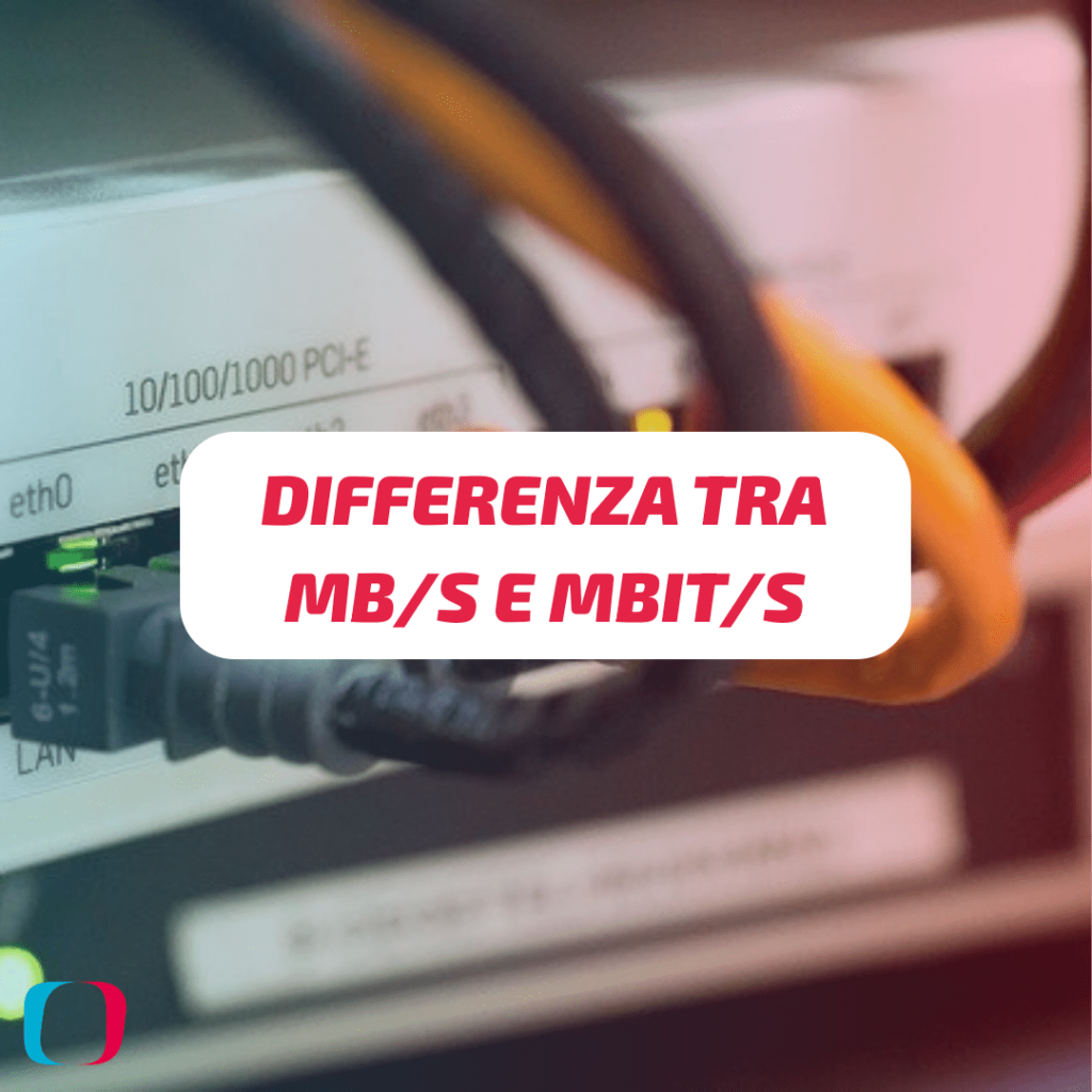 Differenza tra MB/s e Mbit/s