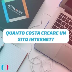 Quanto costa creare un sito internet?
