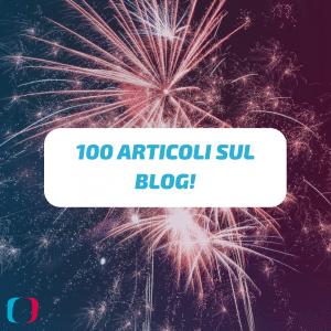 100 Articoli sul Blog!