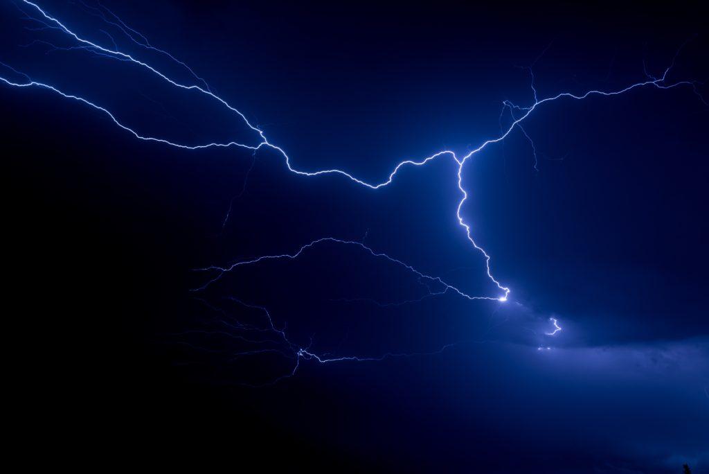Quando fu scoperta l'elettricità: fulmine