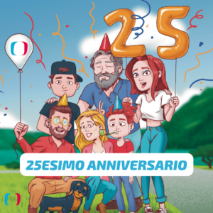Wir feiern 25 Jahre Ticinocom!